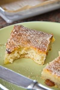 Lecker, fein würzig und herrlich saftig: der weihnachtliche Kartoffelkuchen 2012