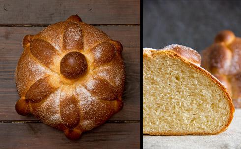 Ein Traum aus Butter, Zucker, Milch, Ei und Mehl: Pan de Muerto