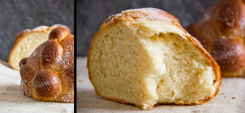 Wattig-weiche Krume, hauchdünne und knusprige Kruste, betörender Geschmack: Ein Traum aus Butter, Zucker, Milch, Ei und Mehl: Pan de Muerto