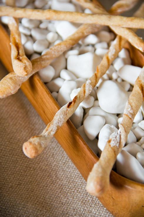 Ein leckerer Snack: Knusperstangen