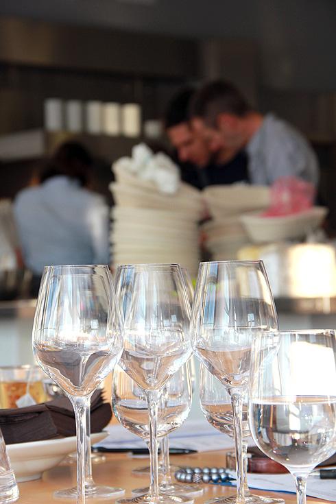 Gute Weine, kulinarische Genüsse und gutes Brot