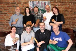 Der Brotbackkurs mit Plötz - glückliche Teilnehmer