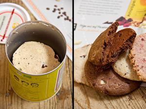 Diese Dose hätte noch mehr Kekse vertragen oder kleiner ausfallen können. Trotzdem: die Kekse sind ein Traum