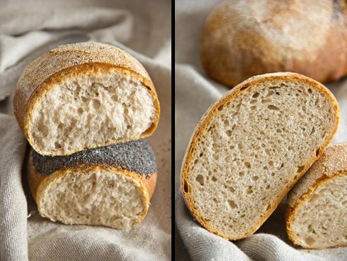 Locker, aromatisch und ein klarer Brotfavorit: Weizen-Dinkel-Brot