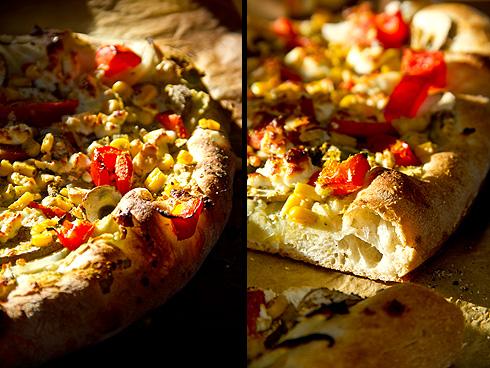 Herrlich knusprig mit großporigem Rand: Pizza Manitoba