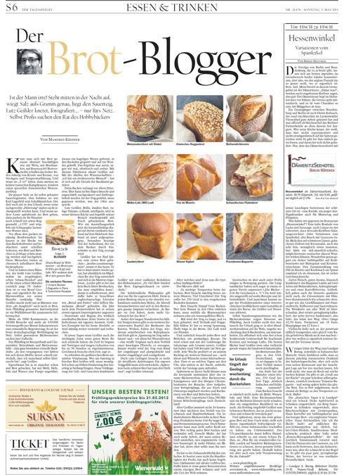 Der Plötzblog im Tagesspiegel. Zum Lesen bitte auf die Abbildung klicken.