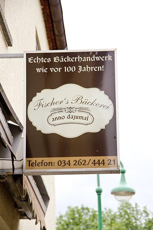 """Immer eine Reise und Verkostung wert: Fischers Bäckerei """"anno dazumal"""" in Kühnitzsch."""
