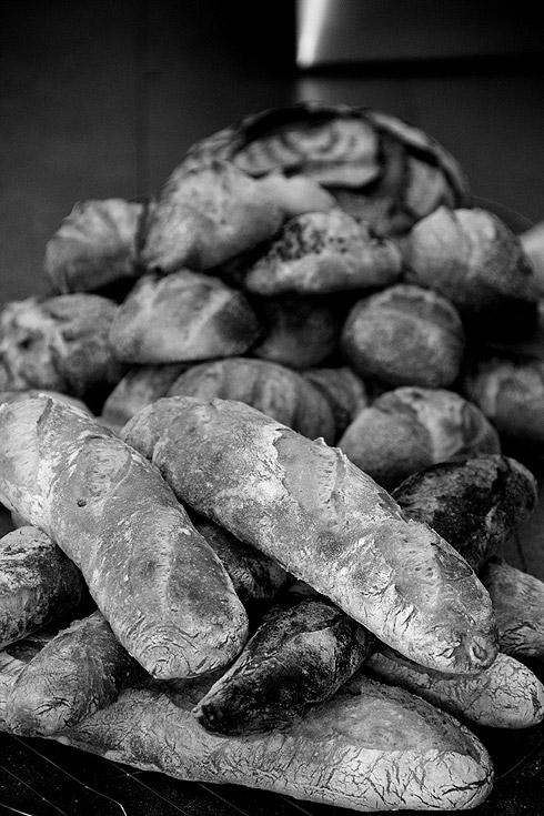 Und noch mehr Brot...