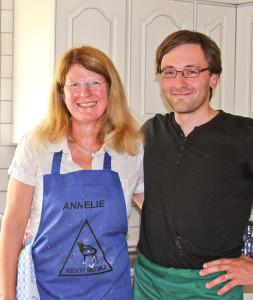 Annelie und ihr Brotbacklehrer Lutz