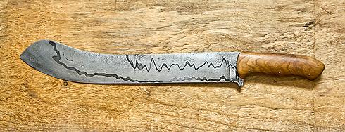 Damast-Brotmesser