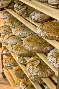 Die fertigen Brote...