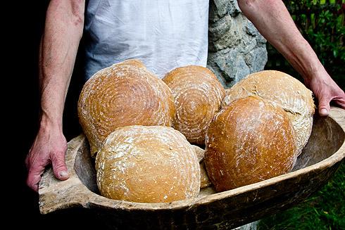Alle Brote im Korb.