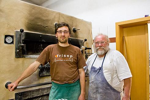 Die beiden Brotagonisten Günther und Lutz
