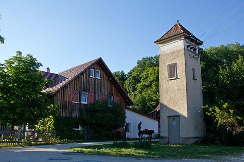 Der Lorettohof in Zwiefalten.