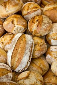 Brote soweit das Auge reicht