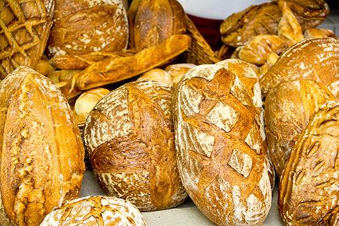Auch die Brote kamen nicht zu kurz.