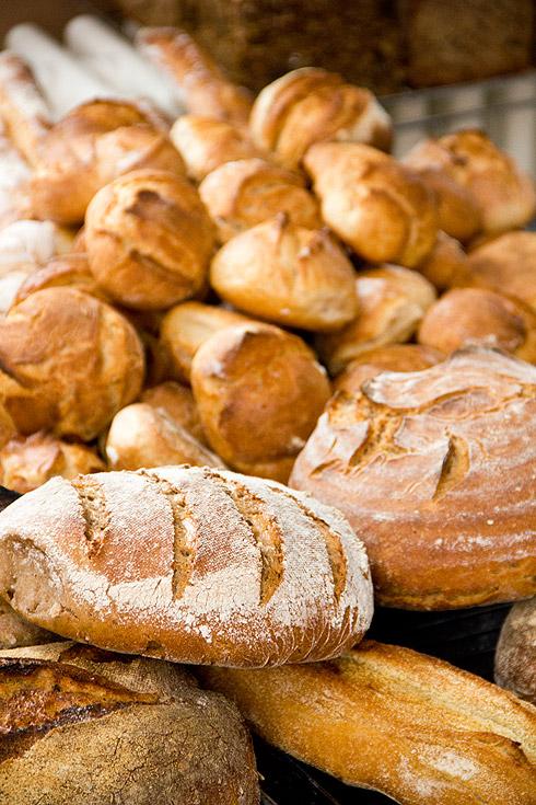Brot und Brötchen soweit das Auge reicht.