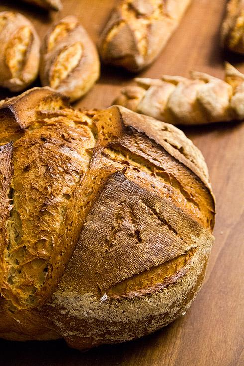 Das erste Kurswochenende in Berlin mit allseits gutem Brot.