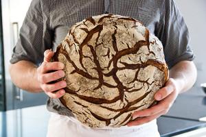 Und letztlich geht es auch darum, mit mittelfesten und weichen Roggenteigen umzugehen, ohne den Teig an den Händen statt im Ofen zu haben.