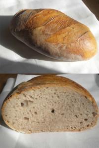 """""""Olli's Customized Urban Freestyle Bread"""" von Olli. Mit Weizensauerteig, Roggensauerteig und Vorteig."""