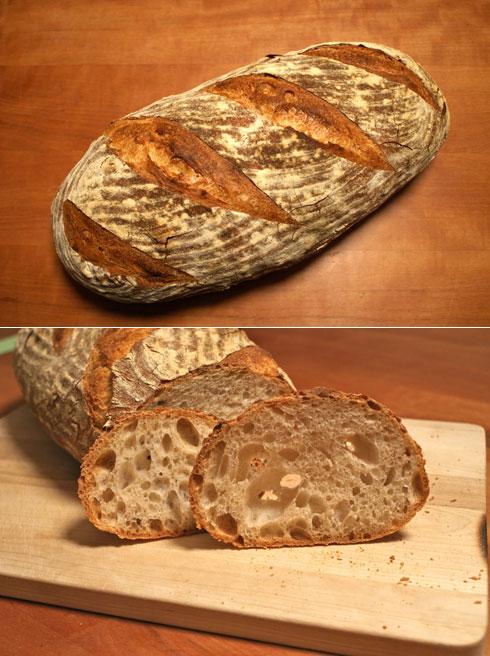 """""""2-3-4-Brot"""" von Hannes. Mit Roggensauerteig und Vorteig."""