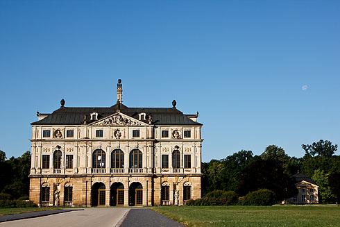 """Palais Großer Garten in Dresden - Schauplatz der Dreharbeiten für """"Deutschlands bester Bäcker"""""""