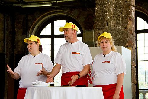 Auch Bäcker Süpke ist einer der Teilnehmer
