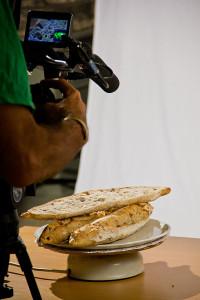 Detailaufnahmen der Teilnehmer-Brote