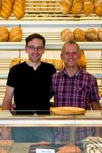 Bäckermeister Friedbert und ich.