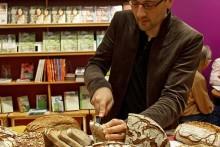 Brotverkostung auf der Buchmesse