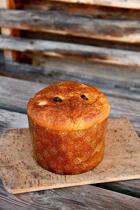 Auf der Alm gebacken: Panettone