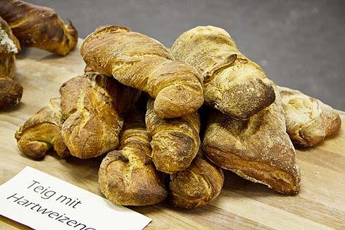 Hartweizen-Brot ohne Malz