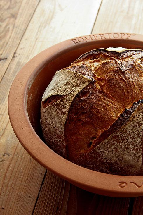 Brot im römertopf mit oder ohne deckel backen