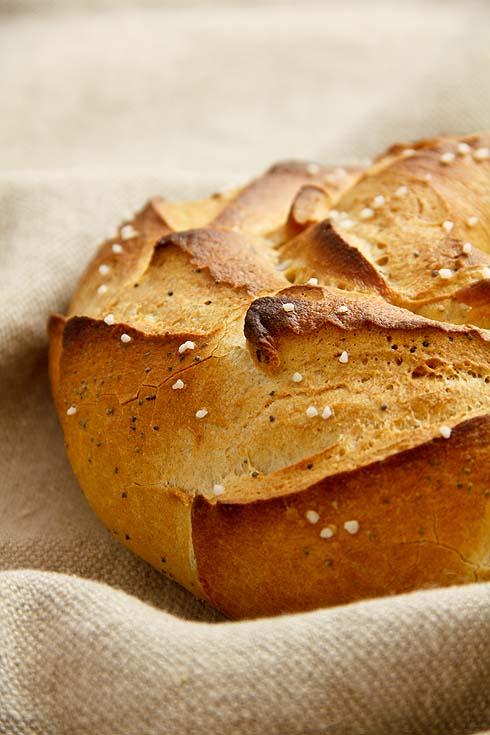 Brotkranz aus Restteig