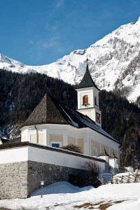 Kleine Dorfkirche.