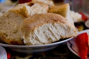 Das fertige Brot.