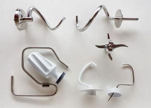 Knetwerkzeuge aller Geräte im Vergleich