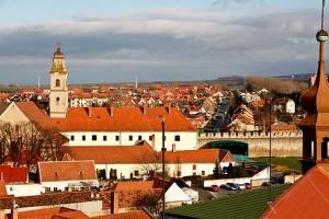 Blick auf das Franziskanerkloster.