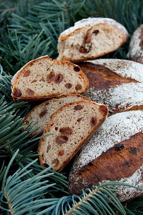 Saftig, süßlich, zum Niederknien: Weihnachtsbrot 2015 mit Bratapfel.