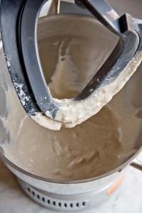 Die Zutaten des Malzstückes nach dem Mischen...