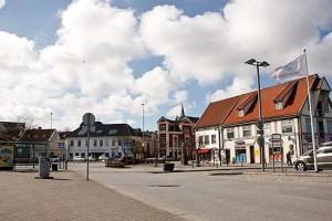 Das Zentrum Stavangers, ganz in der Nähe der Bäckerei Kanelsnurren.