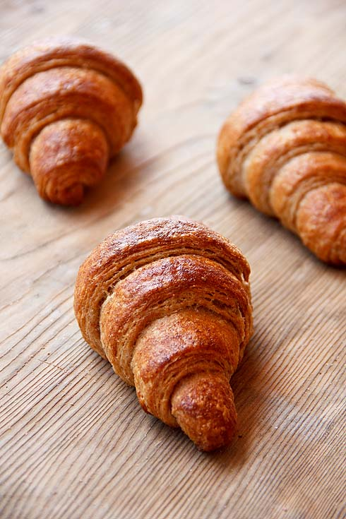 Vollkorn-Croissants