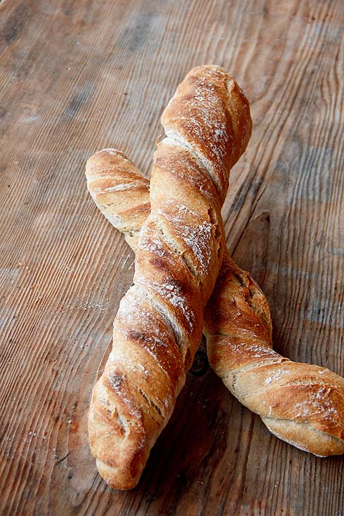 Der gleiche Teig, anderes Brot: Wurzelbrot