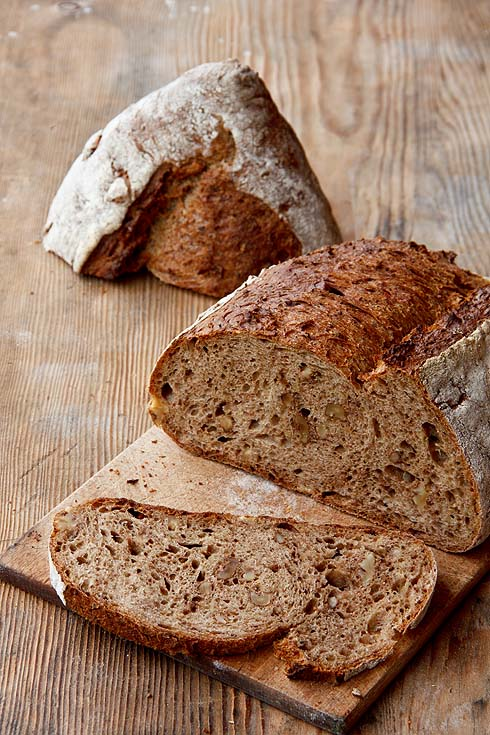 Locker, locker, locker. Ein Traum von einem Brot: Kartoffel-Walnuss-Brot