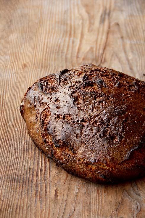 Roggenbrot mit versäuertem Malzstück
