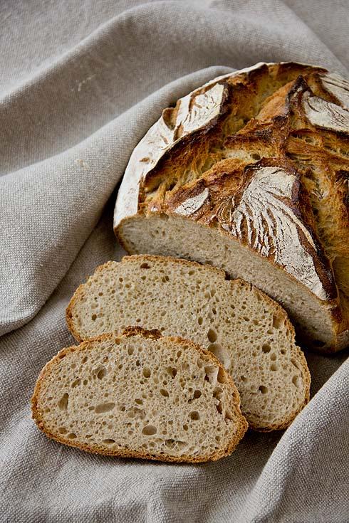 Nur mit Sauerteig gelockert und von unvergleichlichem Aroma: Brot aus Apulösien