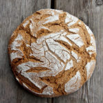 Roggen-Dinkel-Brot mit Kartoffel