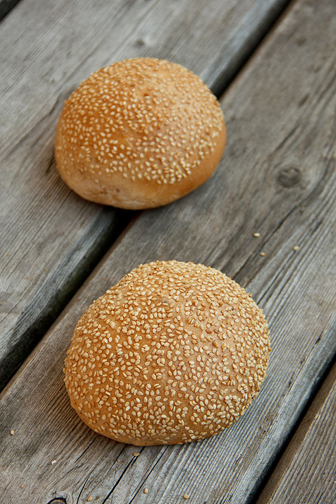 Burger Buns (und Rosinenbrötchen)