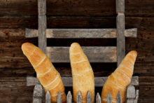 Knoblauch-Käse-Stangerl