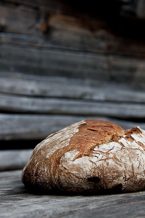 Dinkel-Emmer-Kastanien-Brot